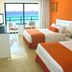 Отель Flamingo Cancun Resort Мексика, Канкун - отзывы, цены и фото номеров - забронировать отель Flamingo Cancun Resort онлайн комната для гостей фото 9