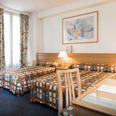 Отель Hôtel de Suez 2* Улучшенный номер с различными типами кроватей