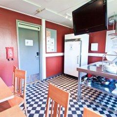 Отель Eurohostel - Helsinki мини-кухня в номере