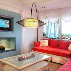 Отель Antigoni Beach Resort 4* Люкс с различными типами кроватей фото 4