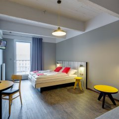 Отель Meininger Brussels City Center 3* Стандартный номер