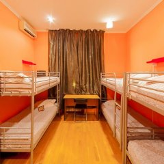 Отель Жилое помещение Bear на Смоленской Кровать в общем номере фото 17
