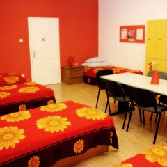 Budapest Budget Hostel Кровать в общем номере