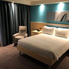Отель Hampton by Hilton Bristol Airport 3* Стандартный номер с различными типами кроватей фото 2