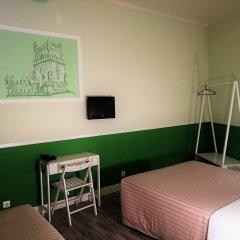 Hotel Leiria Classic - Hostel Стандартный семейный номер разные типы кроватей
