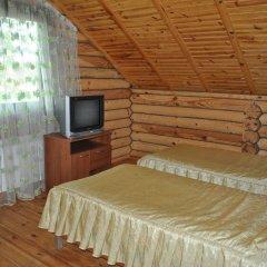 Гостиница Комплекс Отдыха Ёлки-Палки 3* Коттедж разные типы кроватей
