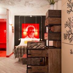 Арт отель Че Стандартный семейный номер с двуспальной кроватью