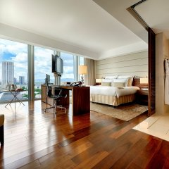 Отель Jumeirah Frankfurt 5* Номер Делюкс с различными типами кроватей фото 6