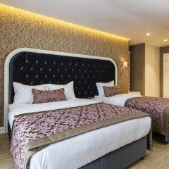 Отель Dencity 4* Улучшенный семейный номер с двуспальной кроватью