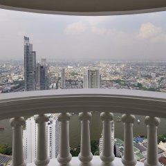 Отель lebua at State Tower 5* Стандартный номер с различными типами кроватей фото 2