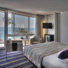 Отель Mercure Nice Promenade Des Anglais 4* Улучшенный номер с различными типами кроватей фото 12