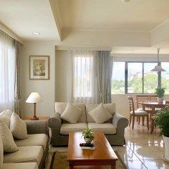 Апартаменты Garden View Court Serviced Apartments Улучшенные апартаменты с 2 отдельными кроватями