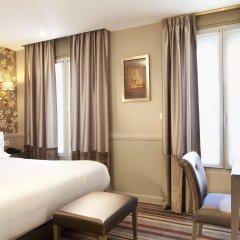 Отель Hôtel des Comédies 3* Стандартный номер с двуспальной кроватью