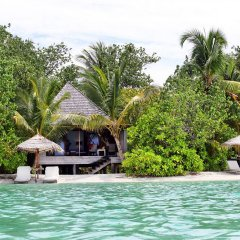 Отель Gangehi Island Resort 4* Вилла с различными типами кроватей фото 8