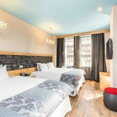 Отель TRYP By Wyndham Times Square South 4* Стандартный номер с различными типами кроватей фото 3