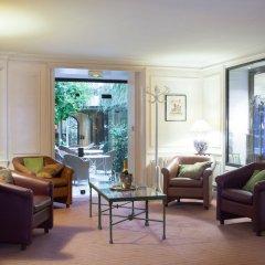 Hotel Des Saints Peres вестибюль