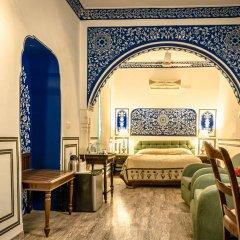 Отель Mandawa Haveli 3* Номер Делюкс с различными типами кроватей