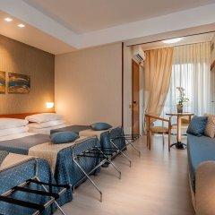Quality Hotel Rouge et Noir Roma комната для гостей