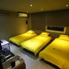 Отель 24 Guesthouse Garosu-gil (Gangnam) 2* Стандартный номер с различными типами кроватей