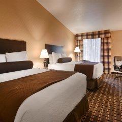 Отель Best Western Plus Las Vegas West 2* Стандартный номер с 2 отдельными кроватями