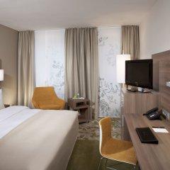 Отель Meliá Düsseldorf 4* Стандартный номер разные типы кроватей фото 5