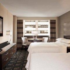 Отель Sheraton New York Times Square 4* Улучшенный номер с различными типами кроватей фото 3