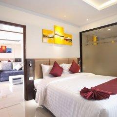 Отель Paripas Patong Resort 4* Стандартный номер с разными типами кроватей фото 5