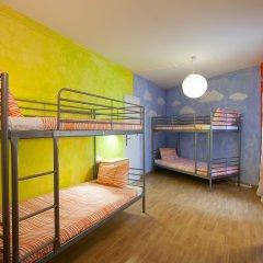 Отель Ericeira Surf Camp 2* Кровать в общем номере двухъярусные кровати фото 2