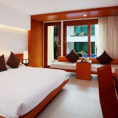 Отель La Flora Resort Patong 5* Улучшенный номер разные типы кроватей фото 3