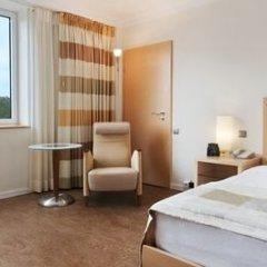 Отель Hilton Düsseldorf 5* Стандартный номер разные типы кроватей фото 9
