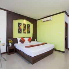 Отель Patong Buri 3* Улучшенный номер с различными типами кроватей