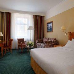 Гостиница Марриотт Москва Гранд 5* Номер Делюкс с различными типами кроватей фото 6