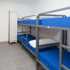 Galaxy Star Hostel Barcelona Кровать в общем номере с двухъярусной кроватью