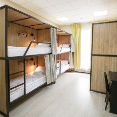 Хостел All Bears Кровать в общем номере с двухъярусными кроватями