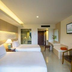 Отель Chanalai Garden Resort, Kata Beach 4* Улучшенный номер с различными типами кроватей фото 2