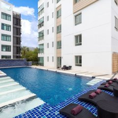 Апартаменты The Regent Phuket Serviced Apartment Kamala Beach открытый бассейн фото 2