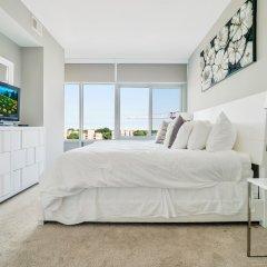 Отель Global Luxury Suites at Woodmont Triangle South Апартаменты с различными типами кроватей