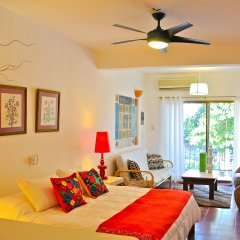 Hotel Petit Mercedes Puerto Vallarta 3* Люкс с различными типами кроватей