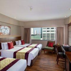 Отель Ramada Plaza by Wyndham Bangkok Menam Riverside 5* Номер Делюкс с различными типами кроватей
