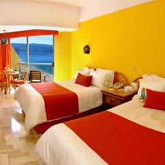 Copacabana Beach Hotel Acapulco 3* Улучшенный номер с двуспальной кроватью