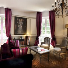 Отель Saint James Paris 5* Президентский люкс с различными типами кроватей фото 7