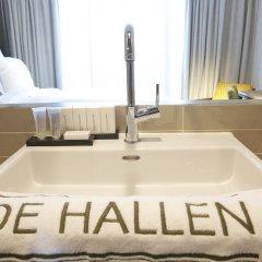 Hotel De Hallen 4* Стандартный номер с различными типами кроватей фото 3