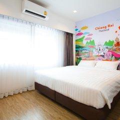 Big Smile Hostel Стандартный номер с различными типами кроватей