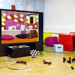 Отель Scandic Paasi закрытая детская игровая площадка