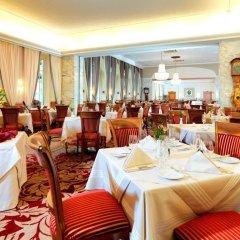 Hotel Stefanie место для завтрака