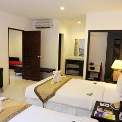 Отель Nai Yang Beach Resort & Spa 4* Люкс с различными типами кроватей