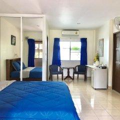 Отель Falang Paradise 3* Улучшенное бунгало с различными типами кроватей