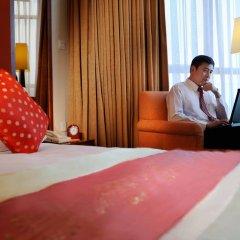 Отель Crowne Plaza Foshan 4* Улучшенный номер с различными типами кроватей