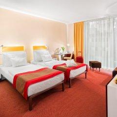 Отель Andel's by Vienna House Prague 4* Улучшенный номер с различными типами кроватей фото 6