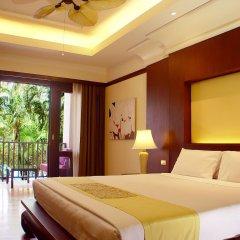 Отель Duangjitt Resort, Phuket 5* Люкс с различными типами кроватей фото 2
